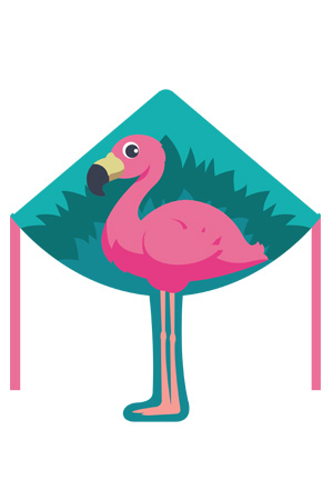 Flamingo Kite Design by Zoom Kites