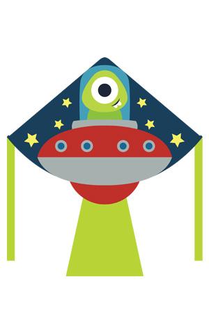 UFO Kite Design by Zoom Kites