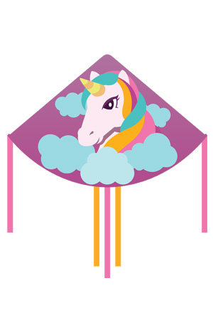 Unicorn Kite Design by Zoom Kites