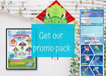 Promo pack Zoom Kites Fundraising